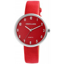 Excellanc ladies watch with strap made of imitatio