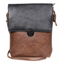 Ladies handbag made of imitation leather, dimensio