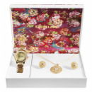 Excellanc gift set with ladies watch, necklace and