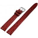 grossiste Accessoires & Pièce détachée: Bracelet en cuir PU rouge foncé 12mm