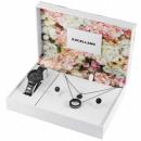 Großhandel Schmuck & Uhren: Excellanc Damenuhr im Set mit Kette und Ohrringe