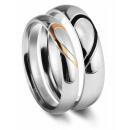 wholesale Rings: Accent partner ring ring made of stainless steel,