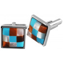 wholesale Cufflinks: Accent stainless steel cufflinks