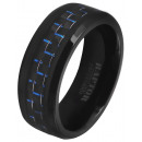 Unisex-Ring aus Carbon