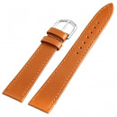 wholesale Accessories & Spare Parts: Basic PU leather bracelet in light brown, smooth,