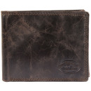 Accent men's purse made of genuine leather. Fo