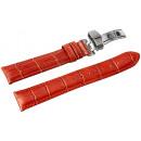 grossiste Accessoires & Pièce détachée: Bracelet en cuir véritable marron, 18 mm, couture
