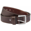 Leonardo Verrelli Genuine Leather Belt, Brown, Siz
