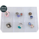 wholesale Business Equipment: Sorting box, transparent, 16 compartments, color: