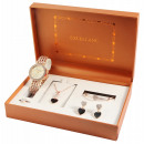 wholesale Necklaces: Excellanc gift set with ladies watch, necklace, ar