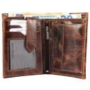 Leonardo Verrelli Genuine Leather Wallet, Color: 2
