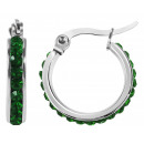 grossiste Chaines: inoxydable Accent Hoops, l'argent, le ...