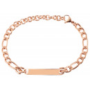 wholesale Jewelry & Watches: Accent bracelet with engraved identification plate