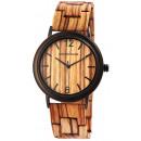 groothandel Sieraden & horloges: Leonardo Verrelli dameshorloge van hout, kleur: 2