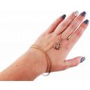 Metal chain bracelet, color: 2
