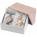 Excellanc Uhrenset/ Geschenkset Damenuhr mit Metal