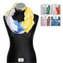 wholesale Curtains & Drapery: Loop scarf package in color assorted , 100% polyes