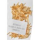 grossiste Accessoires & Pièce détachée: Mittelbandstege, or (paquet de 100) - 14mm