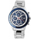 Pierrini men's watch with stainless steel brac