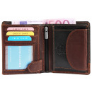 Dattini real leather wallet
