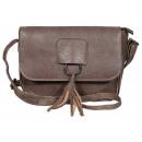 Imitation leather handbag, color: 4