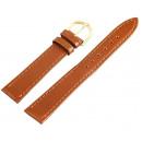 grossiste Accessoires & Pièce détachée: Bracelet en cuir PU de base en marron foncé, lisse