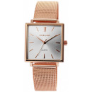 Excellanc unisex watch with stainless steel mesh s