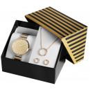 Excellanc Uhrenset / Geschenkset mit Damenuhr in K