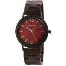 groothandel Sieraden & horloges: Leonardo Verrelli dameshorloge van hout, kleur: 1