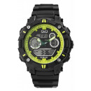wholesale Jewelry & Watches: Q&Q digital men's watch with silicone stra