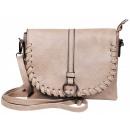 Imitation leather handbag, color: 1