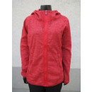 Ladies fleece jacket structured