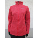 Women's structured fleece jacket