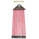 Sunglasses ribbons LO3 neon pink