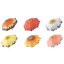 Großhandel Regenschirme: Regenschirm d=100cm Blumen-Motive, ...