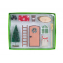 Wichtel Tür Set 10-teilig in PVC-Box (Tür h=10cm)