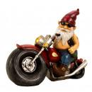 Großhandel Garten & Baumarkt: Motorradzwerg h=28cm b=35cm