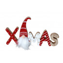 X-mas fabric decoration for hanging. a.in cello h
