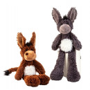 wholesale Toys: Donkey with long arms + legs total h = 50cm (seat