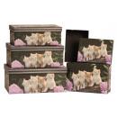 ingrosso Casalinghi & Cucina: Boxe con gatti motivo set di 5 set