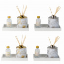 wholesale Drugstore & Beauty: Fragrance set with fragrance oil 9x17.5cm (Lavende