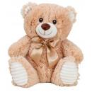 Großhandel Spielwaren:Bär beige sitzend h=27cm