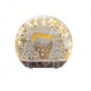 Weihnachts-LED-Acryl-Deko zum Stellen 25x8x23cm