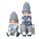 wholesale Other: Winter children XXL gray with dangling legs h = 31