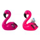 ingrosso Articoli da Regalo & Cartoleria: Salvadanaio Flamingo h = 19 cm b = 14,5 cm, 2- vol