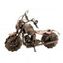 Motocicleta metal cobre h = 15cm l = 22cm