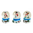wholesale Gifts & Stationery: Snow globe snowman winter landscape h = 6cm d = 4,