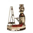Bier-Flaschenhalter 'Schwenker' mit Tablett (0,33l