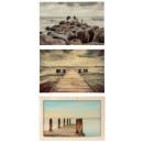 Imagen de vidrio 'Bridge & Sea' 40x60c
