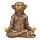 hurtownia Upominki & Artykuly papiernicze: Figurka Jogi Małpki brązowo-złota h = ...